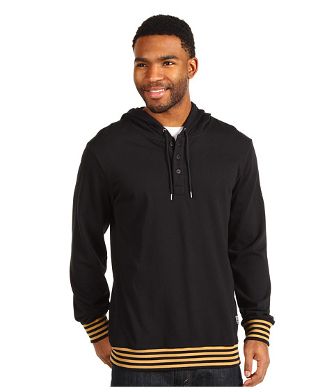 Bluze Nike - Repeater Henley Pullover Hoodie - Black
