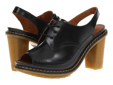 Pantofi Dr. Martens - Tara Lace Sandal - Black Packard