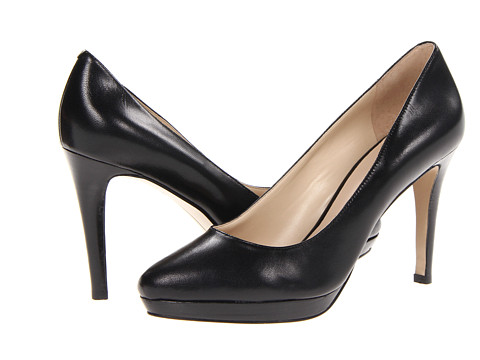 Pantofi Nine West - Beautie - Black Leather