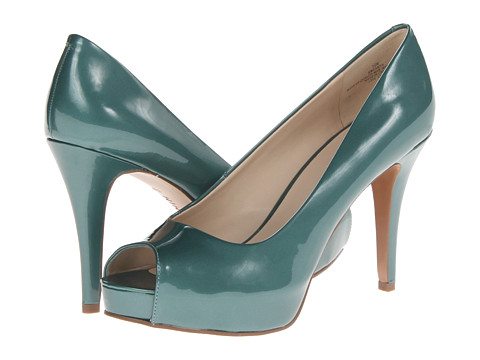 Pantofi Nine West - Camya - Aqua Synthetic