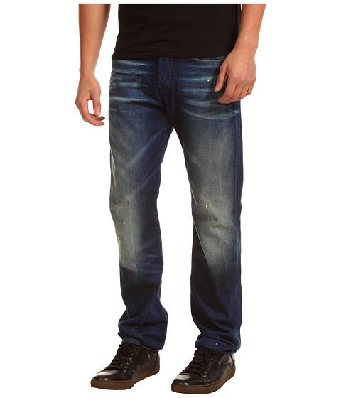 Pantaloni G-Star - 3301 Straight in Carbit Denim Medium Aged - Carbit Denim Medium Age