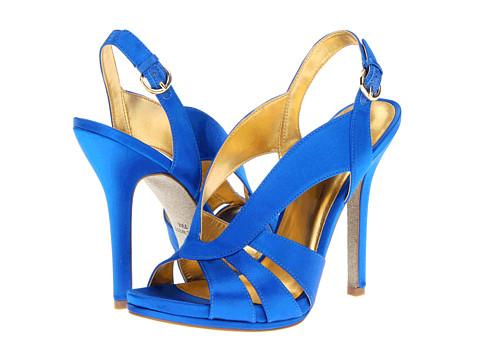 Pantofi Nine West - Loela - Blue Satin
