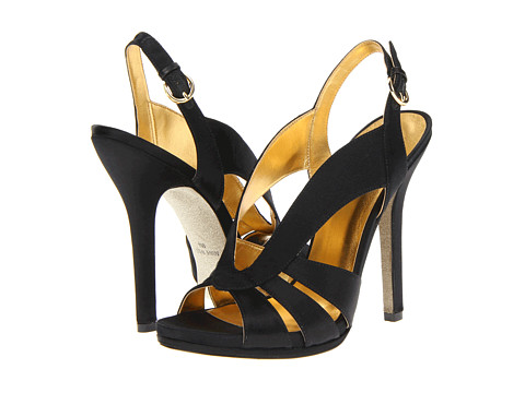 Pantofi Nine West - Loela - Black Satin
