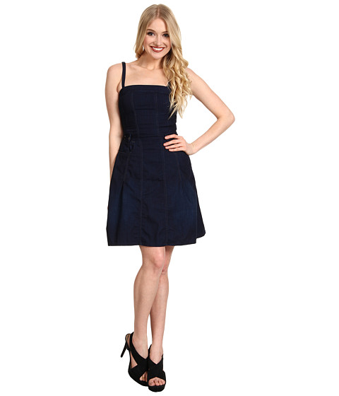 Rochii G-Star - Lauren Dress - Lynx Denim Dark Age