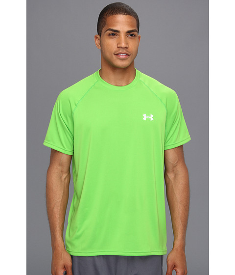 Tricouri Under Armour - Tech⢠S/S Tee - Parrot Green/White