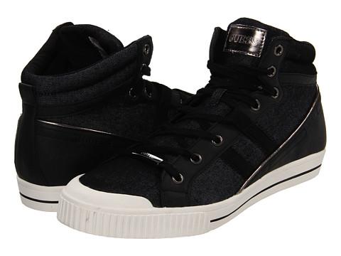 Adidasi GUESS - Cristian - Black
