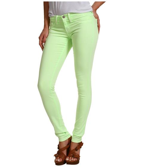 Pantaloni Gabriella Rocha - Kamilia Skinny Jean in Neon Green - Neon Green
