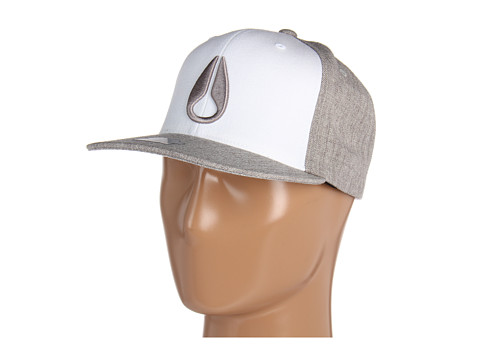 Sepci Nixon - Deep Down Starter Hat - White/Heather Grey