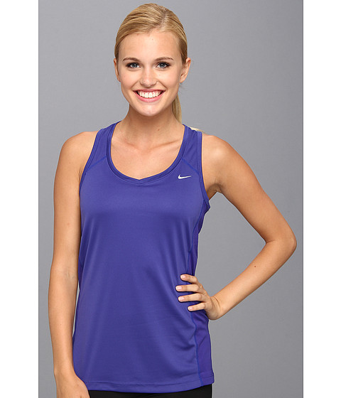 Bluze Nike - Miler Tank - Deep Night /Deep Night/Deep Night/Reflective Silver