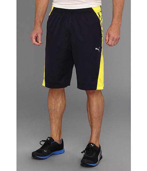 """Pantaloni PUMA - 10\"""" BIO WEB Training Short - New Navy/Blazing Yellow"""