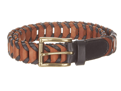Curele Cole Haan - Multicolor Woven Belt - Black/Woodbury