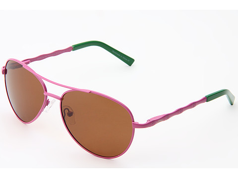 Ochelari Lilly Pulitzer - Amelia (Polarized) - Hibiscus Pink/Palm Green/Rose Brown Polarized