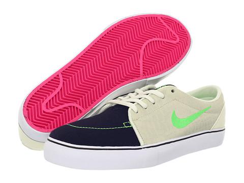 Adidasi Nike - Satire - Blackened Blue/Sail/White/Poison Green