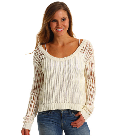 Pulovere Roxy - Shadow Holly Sweater - Seaspray