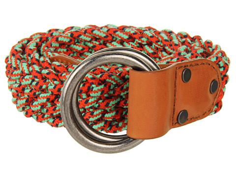 Curele Cole Haan - Mountain Braid Belt - Orange Pop