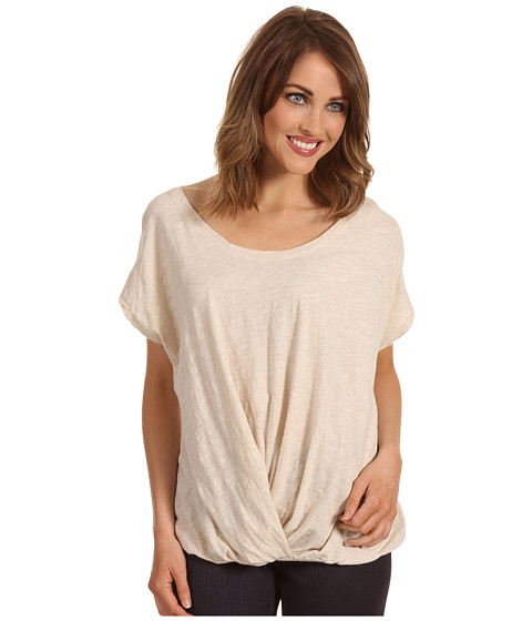 Tricouri DKNY - Twist Front Top - Oatmeal Heather