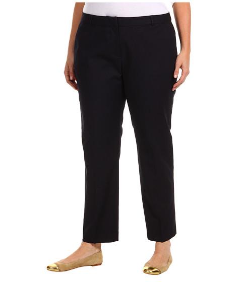 Pantaloni Michael Kors - Plus Size Stretch Cotton Welles Ankle Pant - Navy