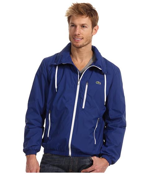 Jachete Lacoste - GLC Light Weight Tafetta Jacket - Captain Blue/White