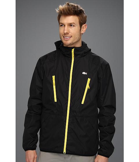 Jachete Lacoste - Taffeta Jacket - Black/Primrose Yellow