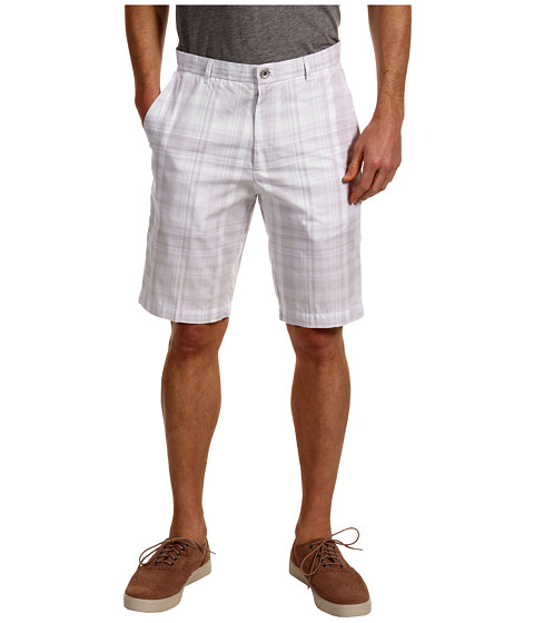 Pantaloni Calvin Klein - Tonal Large Plaid Short - Pedal Grey