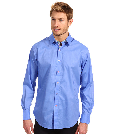 Camasi Robert Graham - Bay Shore L/S Woven - Blue