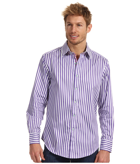 Camasi Robert Graham - Lanai L/S Woven - Purple
