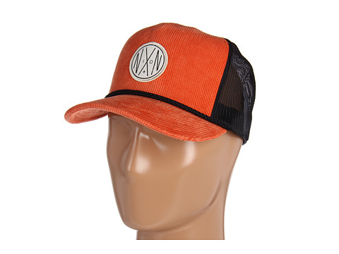 Sepci Nixon - NXN Cord Trucker Hat - Orange