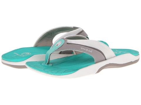 Sandale Crocs - Seaweed III - Light Grey/Island Green