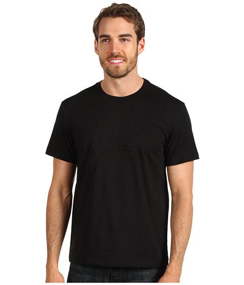 Tricouri Lacoste - Cotton Jersey Croc Graphic T-Shirt - Black