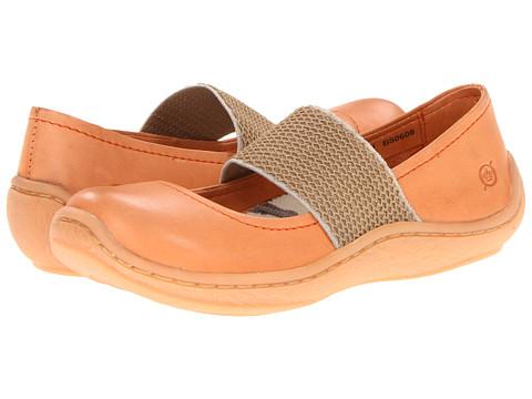 Balerini Born - Acai - Mandarine (Orange) Full Grain Leather