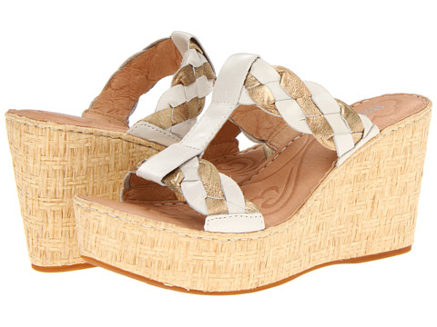 Sandale Born - Barstow - Biano (Off White) Burnished Full Grain Leather