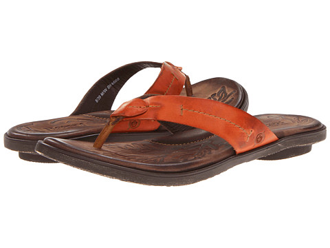 Sandale Born - Calda - Orange Full Grain Leather