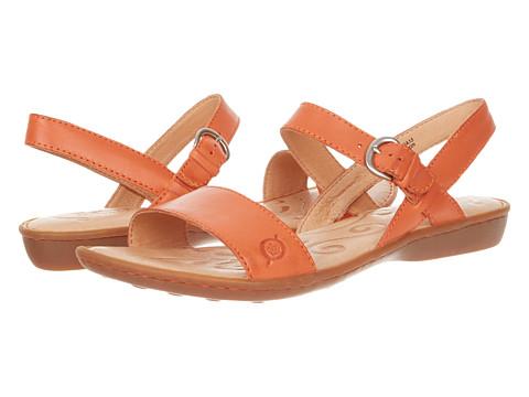Sandale Born - Janna Sandal - Orange Full Grain Leather