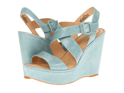 Sandale Born - Kathrin - Crown Collection - Guadalupe (Lt Blue) Veg
