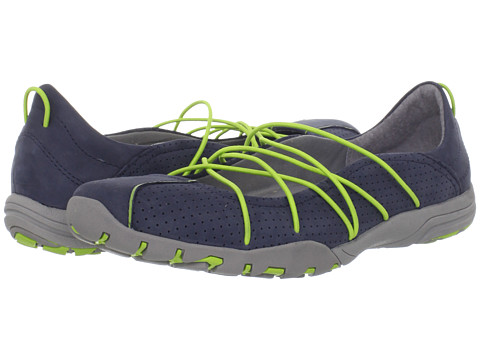 Balerini Clarks - Sprint Carbon - Navy with Lime Green