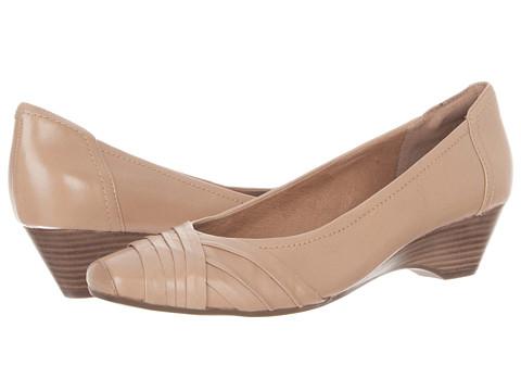 Pantofi Clarks - Ryla King - Tan Leather