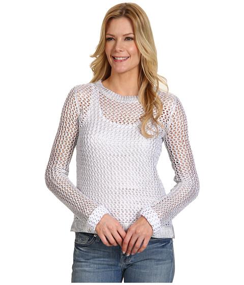 Bluze Kenneth Cole - Kole Sweater - White/Silver Light