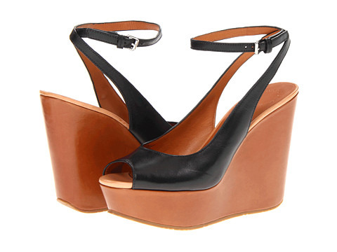 Sandale Marc by Marc Jacobs - Clean Sandal Wedges - Vacchetta Black/Tan/Nude