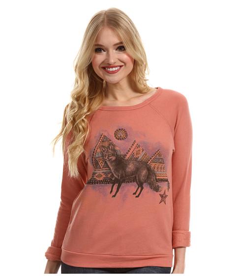Bluze Obey - Fox Sweatshirt - Desert Sand