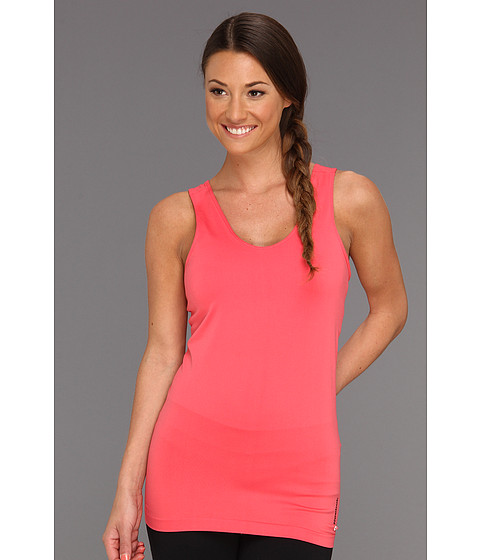 Tricouri Reebok - Seamless Long Bra Top - Coral Contrast