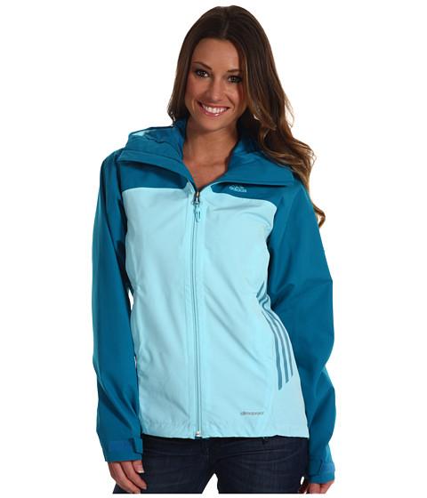 Bluze adidas - Terrex Swift 2L Spring Jacket - Vivid Teal/Blue Zest