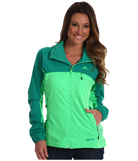 Bluze adidas - W Terrex WINDSTOPPERî Fast Jacket - Blaze Green