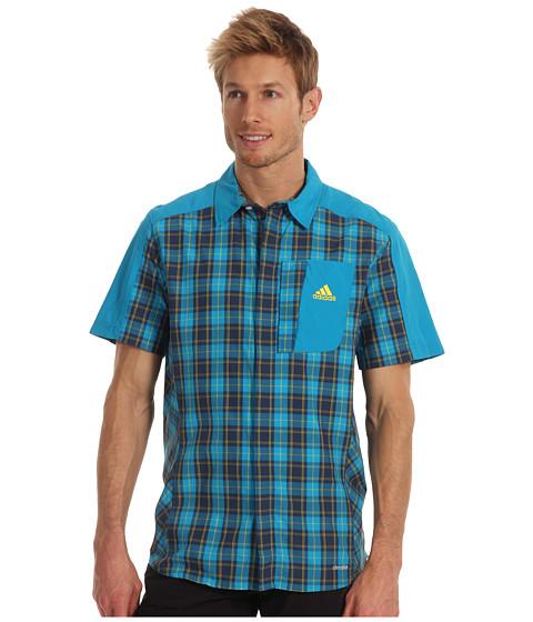 Tricouri adidas - Hiking/Trekking Trail Shirt - Turquoise