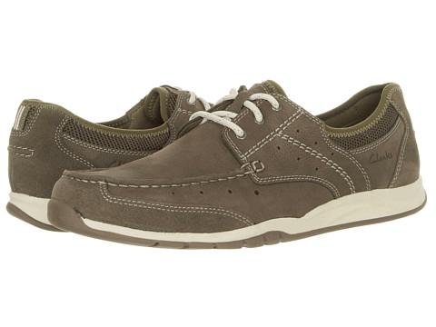 Pantofi Clarks - Armada English - Olive Nubuck