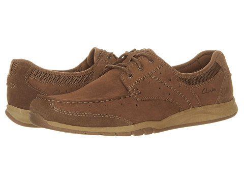 Pantofi Clarks - Armada English - Tan Nubuck