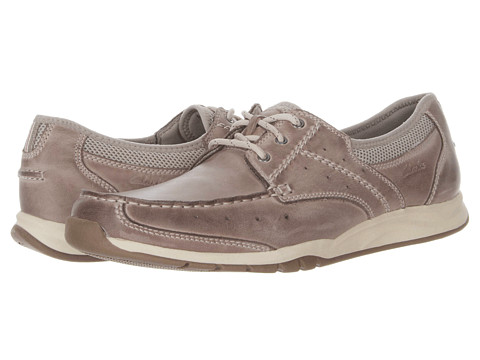 Pantofi Clarks - Armada English - Taupe Leather