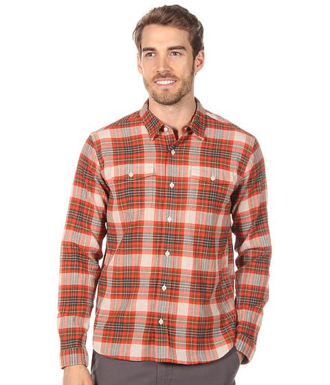Camasi Patagonia - L/S ACÃ'® Steersman Shirt - Handplane/Paintbrush Red