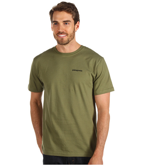 Tricouri Patagonia - P-6 Logo T-Shirt - Spanish Moss