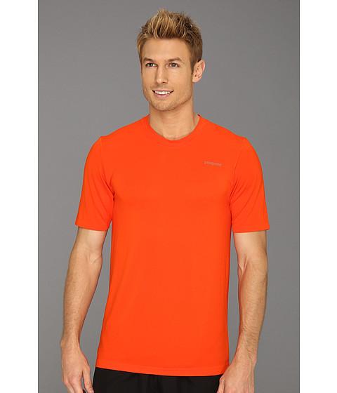 Tricouri Patagonia - S/S Gamut Shirt - Paintbrush Red