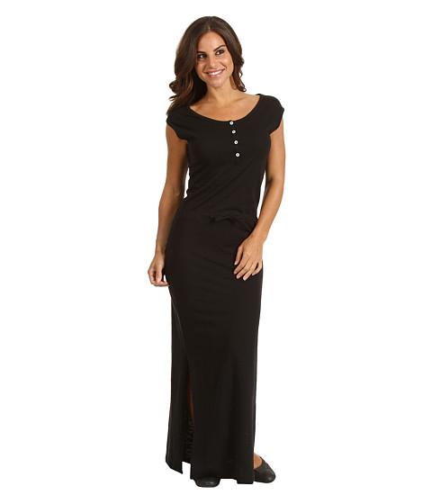 Rochii Patagonia - Necessity Henley Dress - Black